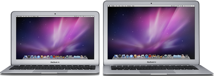 Nové MacBooky Air s OS X Lion, Thunderbolt a Sandy Bridge