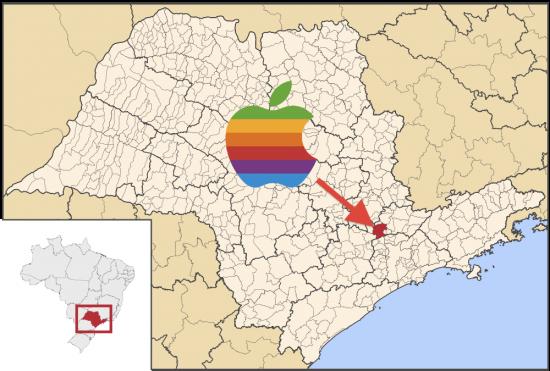 iPad 2 - Vyrobeno v Brazílii