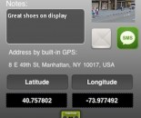 GPS Bookmarker for iOS (iPhone screenshot 003)