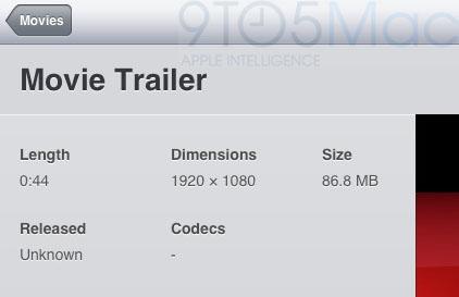 Full HD (1080p) videa v nativních aplikacích Applu s iOS 5